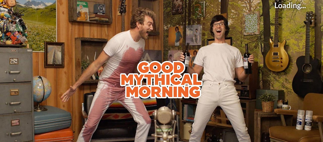 Watch Good Mythical Morning On Your Roku Rokuki