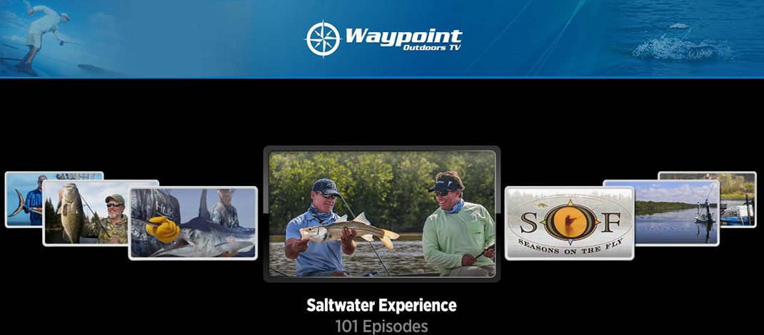 Waypoint TV Brings It's Fishing Channel Free To Your Roku