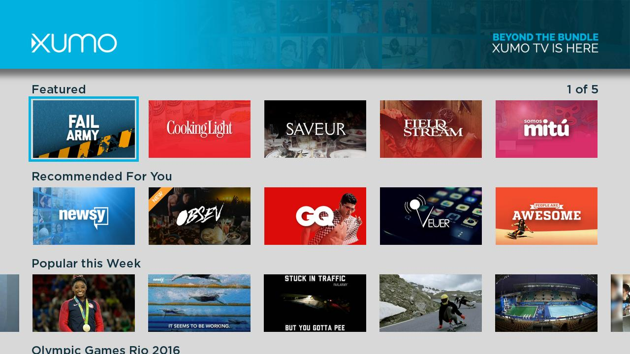 Fox Sports Content Added To Xumo Free Streaming Service