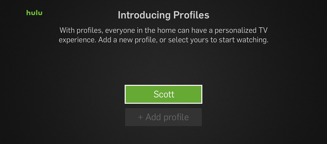 how to get different netflix profiles on roku