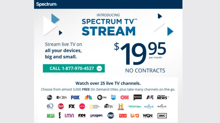 Charter Cable Packages >> Spectrum TV Stream On Your Roku & Other Devices – Rokuki