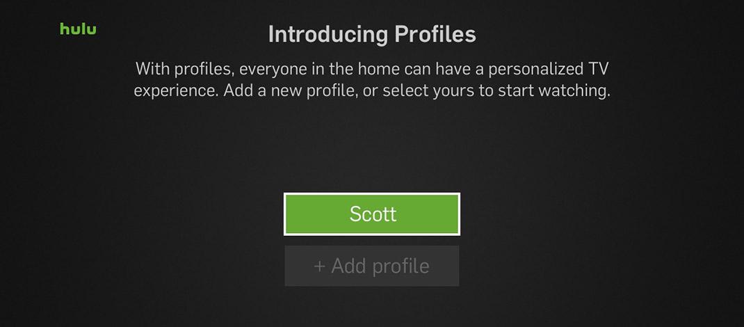 Hulu Launches Personal Profiles – Rokuki